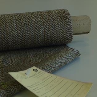Bolt of Shetland tweed
